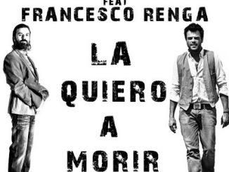 """Jarabedepalo e Francesco Renga: """"La quiero a morir"""