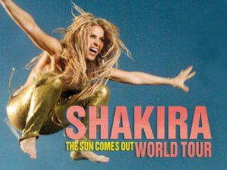 Shakira concerti Italia