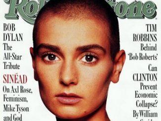 Sinead O'Connor su una vecchia cover di Rolling Stone