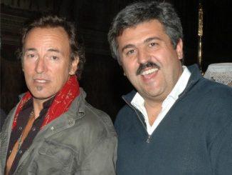 Bruce Springsteen con Claudio Trotta