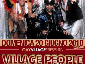 Village People al Gay Village 2010