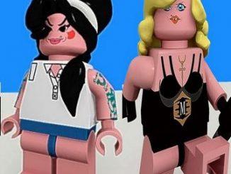 Winehouse e Madonna in versione Lego
