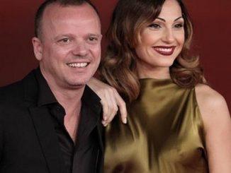 Anna Tatangelo e Gigi D'Alessio (foto dalla pagina FB di D'Alessio)