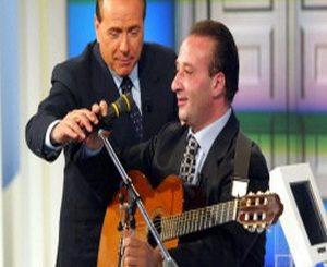 Apicella e Berlusconi
