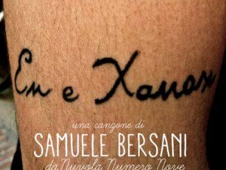 En e Xanax di Samuele Bersani
