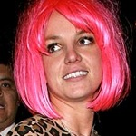 Britney Spears pink air