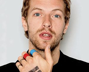Chris Martin dei Coldplay
