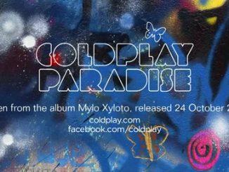 Coldplay: Paradise estratta da Mylo Xyloto