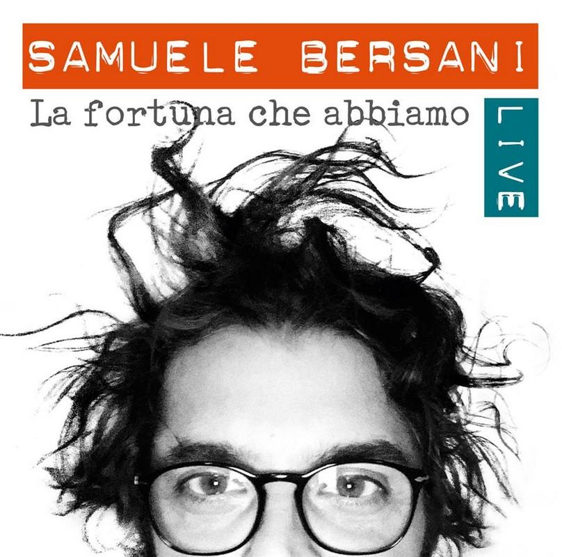 Samuele Bersani il suo primo album live