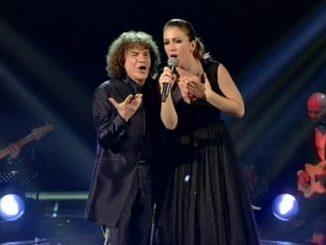 Elhaida Dani e Riccardo Cocciante