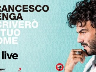 Francesco Renga Tour