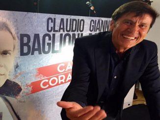 Gianni Morandi per Capitani Coraggiosi - foto dal profilo FB ufficiale di Morandi
