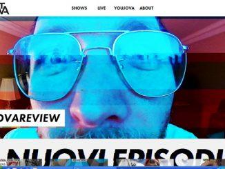 JovaTV homepage