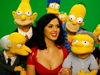 Katy Perry con i Simpson
