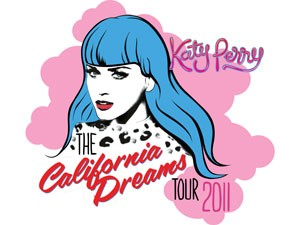 Katy Perry in concerto: The California Dreams tour