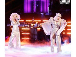 "Lady Gaga e Christina Aguilera in ""Do What U Want"""