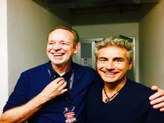Phil Manzanera e Luciano Ligabue