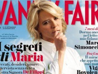 Maria De Filippi sulla cover di Vanity Fair
