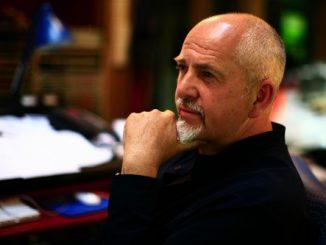 Peter Gabriel ritratto da York Tillyer