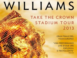 Robbie Williams: concerto di Tallin al cinema