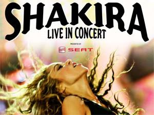 Shakira in concerto a Torino