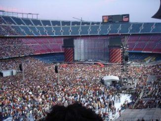 U2 concerto Barcellona