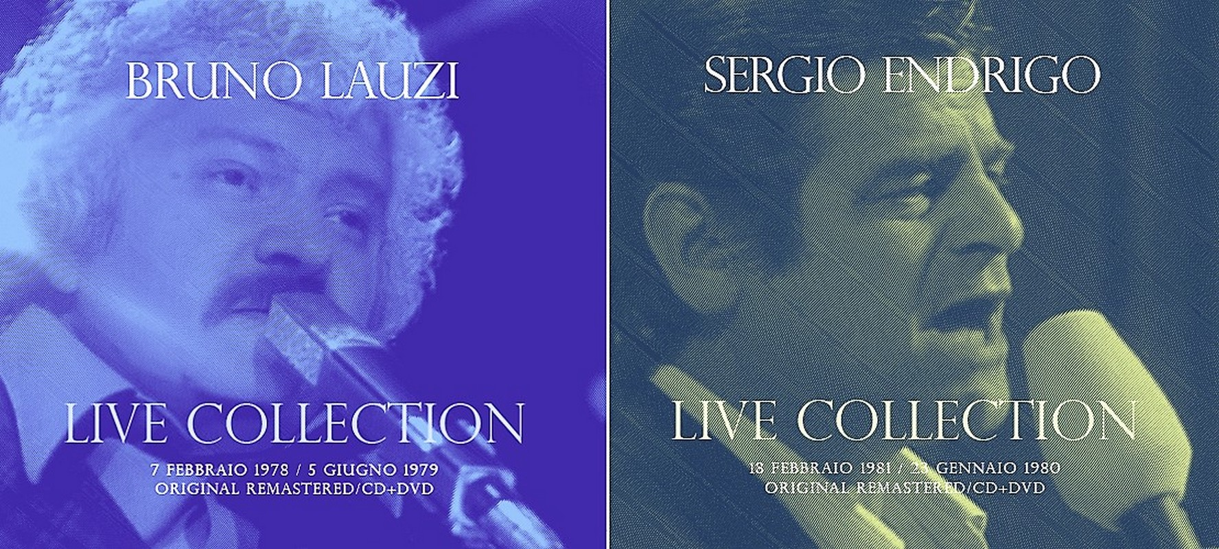 Bruno Lauzi e Sergio Endrigo Collection