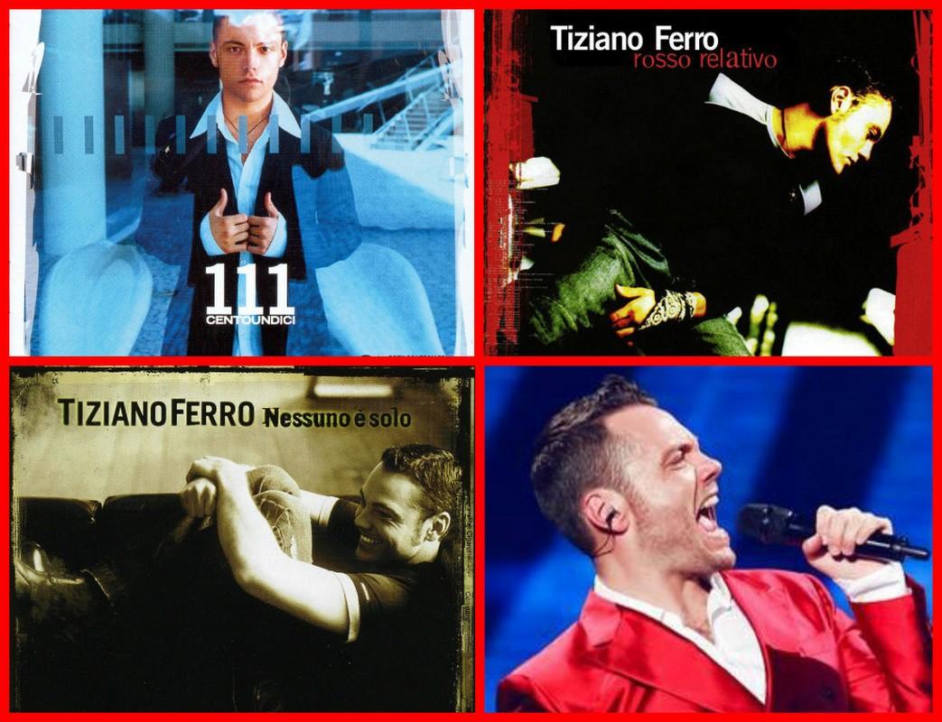 TIZIANO FERRO ALBUM