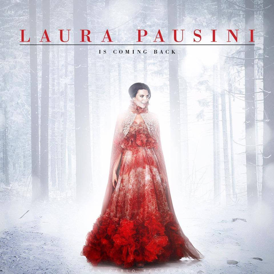 Laura Pausini al Teatro di Imola: fan protagonisti del disco di Natale