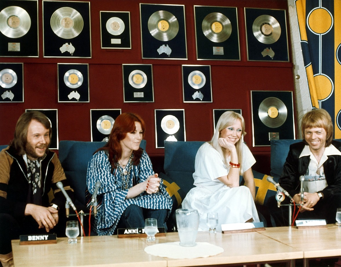 ABBA photo credit polar music international
