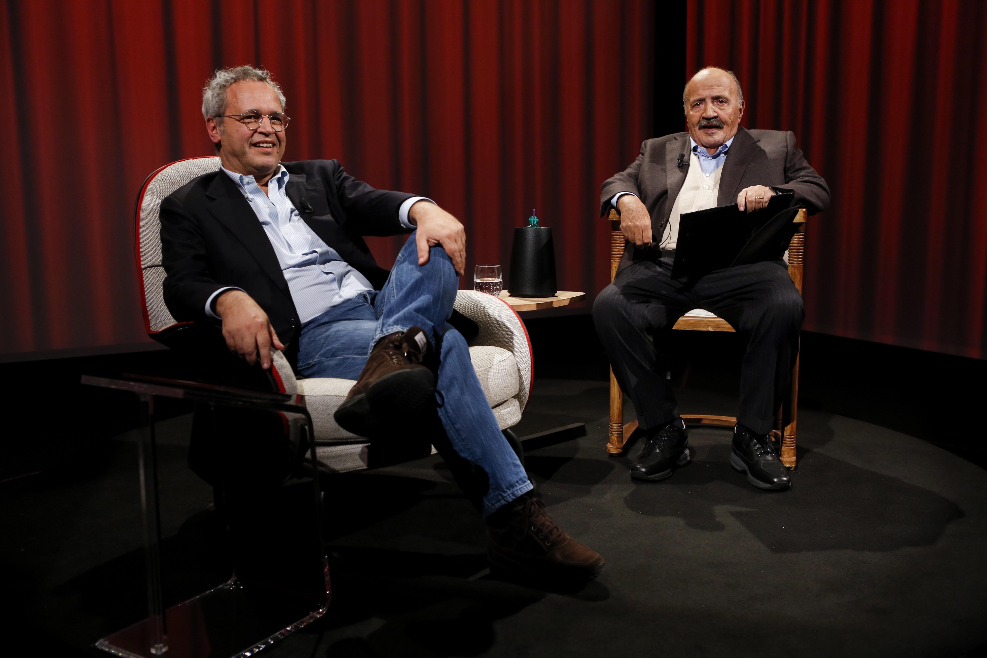 Mentana da Costanzo, si commuove e spiega l'addio a Mediaset