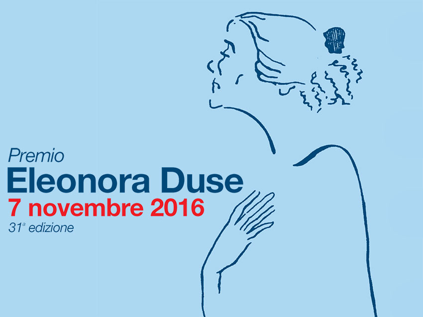 Locandina del Premio Eleonora Duse 2016