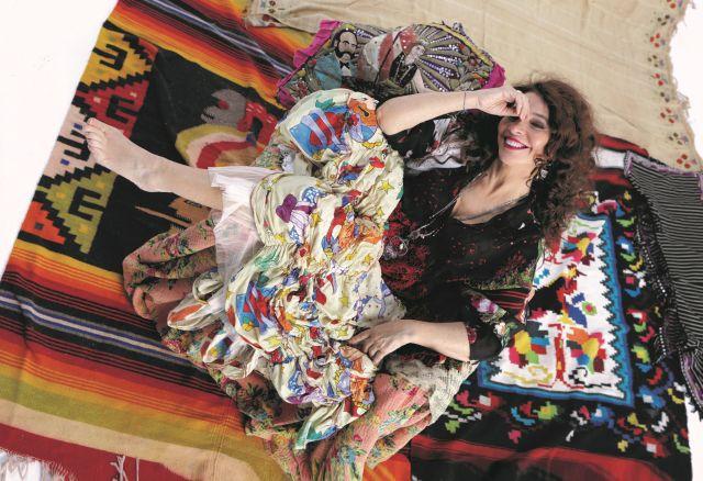 Teresa De Sio foto di Luciano Viti