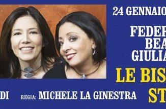 """La locandina de """"Le bisbetiche stremate - Tris"""" con Giulia Ricciardi, Federica Cifola e Beatrice Fazi"""