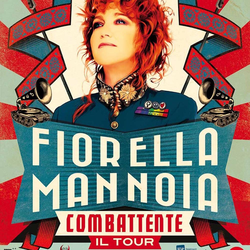 FIORELLA MANNOIA COMBATTENTE IL TOUR