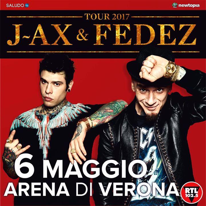 J-AX E FEDEZ – TOUR 2017