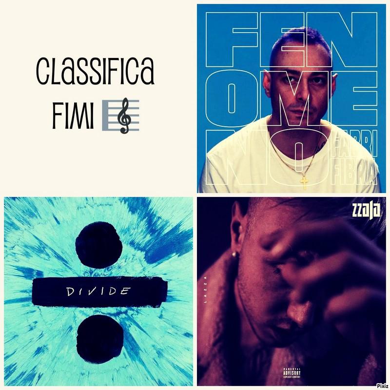 CLASSIFICA FIMI 21 APRILE