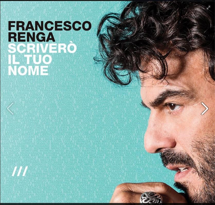 FRANCESCO RENGA DISCO DI PLATINO