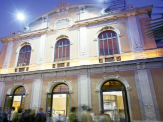 Esterno del Teatro Ambra Jovinelli di Roma