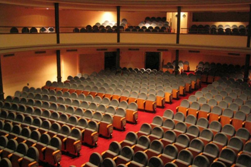 Interno del Teatro Ambra Jovinelli di Roma