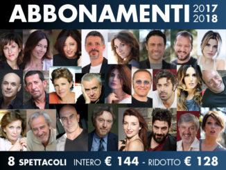 Teatro Golden Roma, Stagione 2017/2018