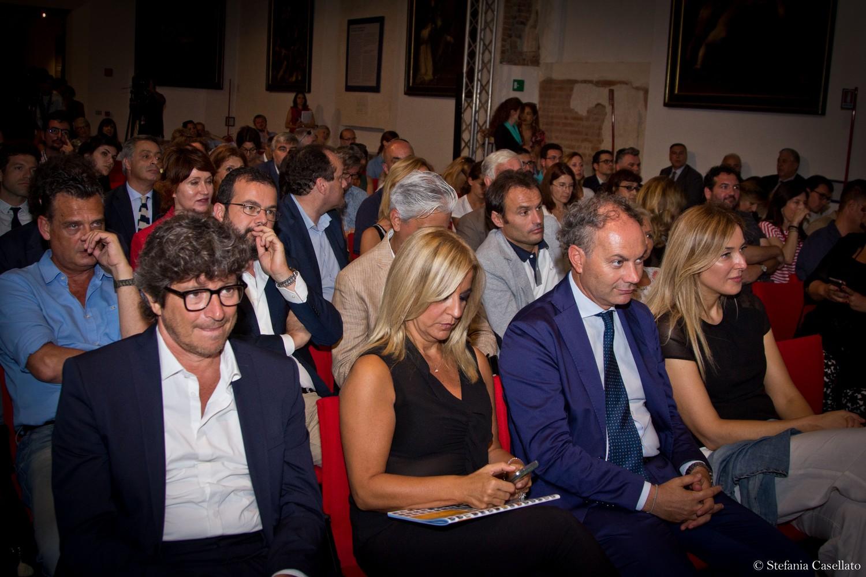 Tv2000: i volti noti Michele La Ginestra, Monica Di Loreto. Giuseppe Caporaso, Stefania Squarcia