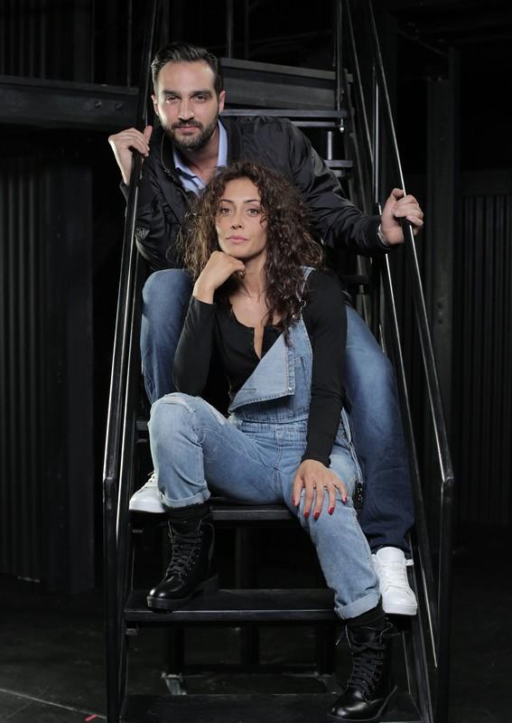 Valeria Belleudi e Lorenzo Tognocchi