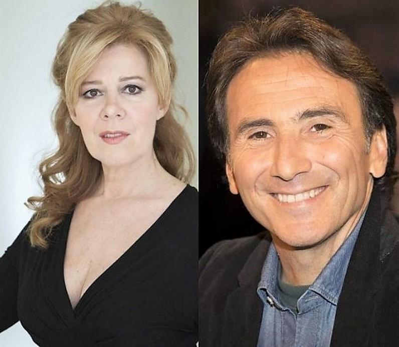 Sandra Collodel e Bruno Maccallini