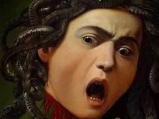 La locandina del film su Caravaggio