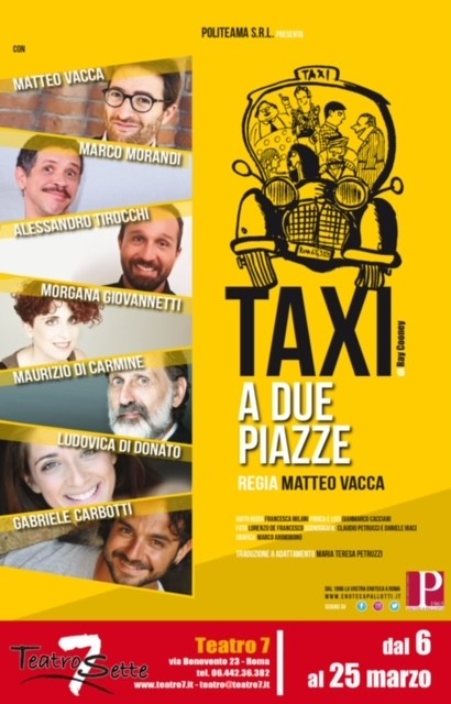 Locandina Taxi a due piazze