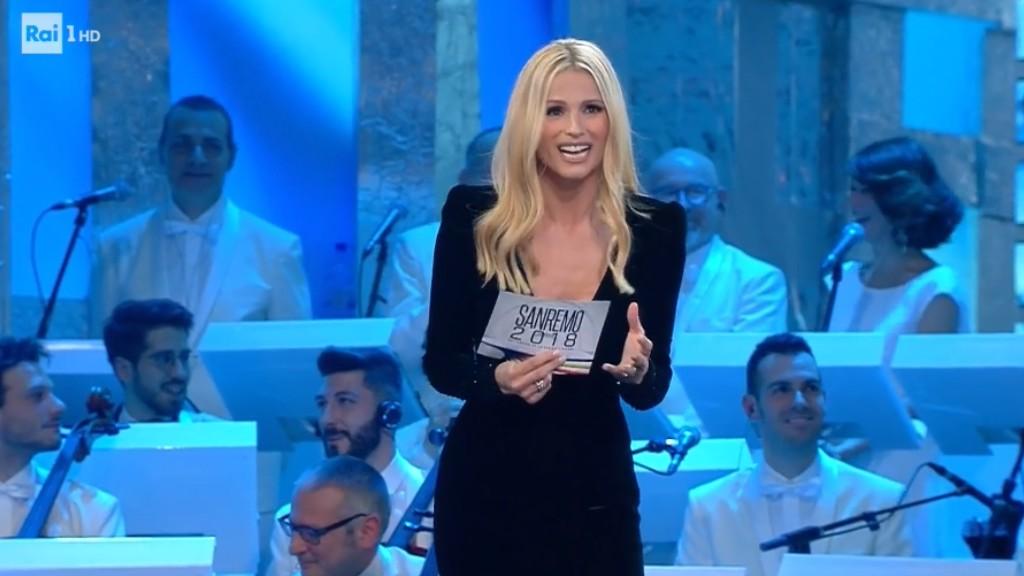 Michelle Hunziker conduttrice del Festival di Sanremo 2018