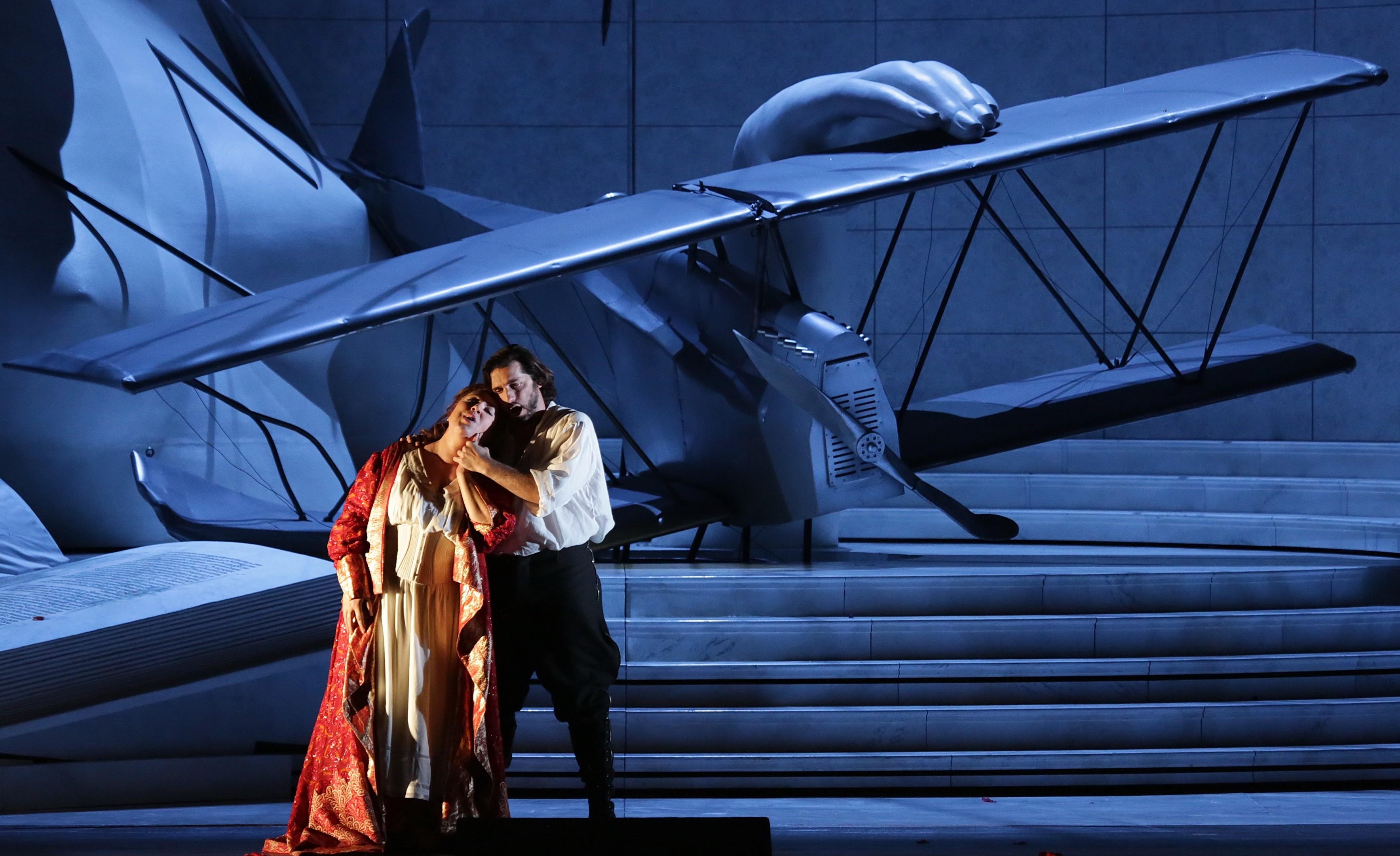 Maria José Siri e Marcelo Puente in Francesca Da Rimini Teatro Alla Scala