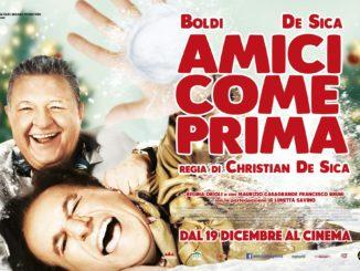 """""""Amici come prima"""", il film di Natale di Massimo Boldi e Christian De Sica"""