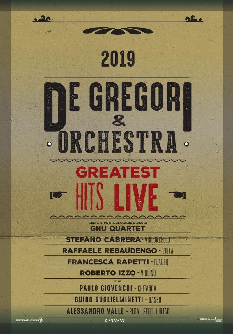Francesco De Gregori, Greatest Hits Live